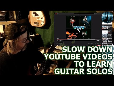 Slow Down YouTube Videos To Learn Guitar Solos