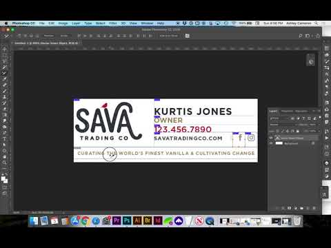 How To Create A Professional Gmail Signature From Photoshop