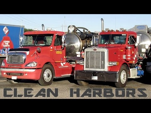 CLEAN HARBORS TANKER TRUCKS ~ WASTE