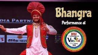 Bhangra | Khushwinder Singh | Student Performance | Vibgyor 2k19 | BFGI