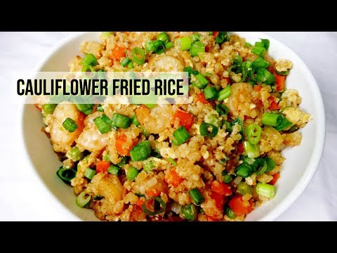 Stir-Fried Cauliflower Grain Bowl