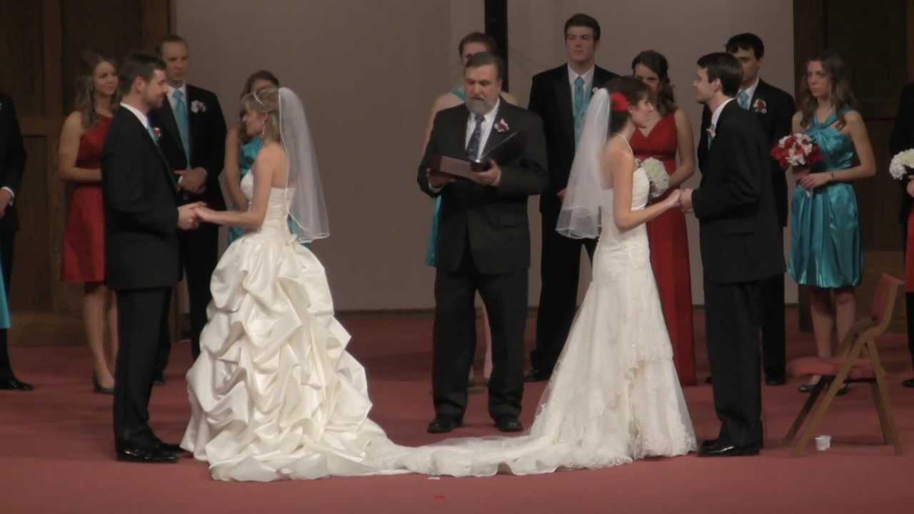 Bradley erber sumpter double wedding youtube junglespirit Gallery