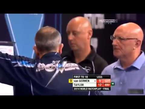PDC World Matchplay 2014 Final  Phil Taylor vs Michael van Gerwen
