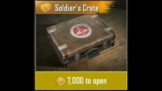 SPEND BP ON PUBG Mobile | HOW TO GET SOLDIER CRATE