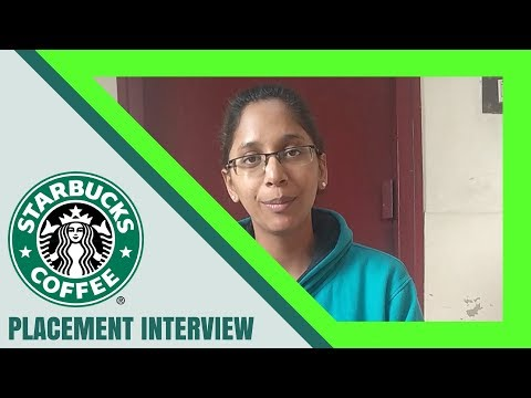Fresher's Job | Starbucks Interview Experience | Questions And Answers