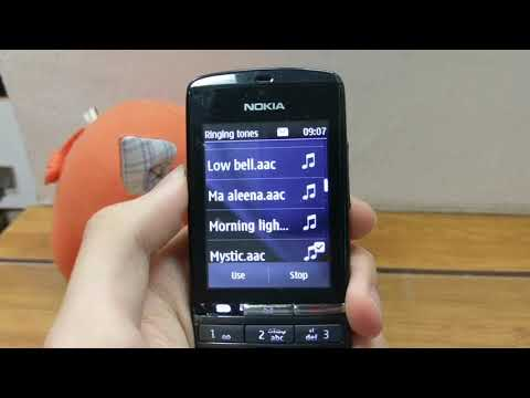 How to turn off vibrations on Nokia Asha 300