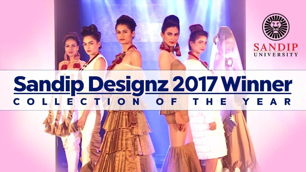 Sandip Designz 2017 Winner Collection Of The Year School Of Fashion Youtube