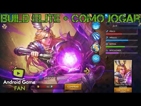 Jeanne - Build Elite + Como Jogar - Rankeada - Heroes Evolved