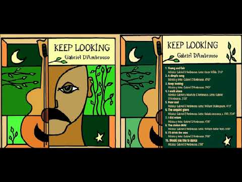 KEEP LOOKING   FULL ALBUM   GABRIEL D'AMBRUOSO   GARÚA RECORDS 2017