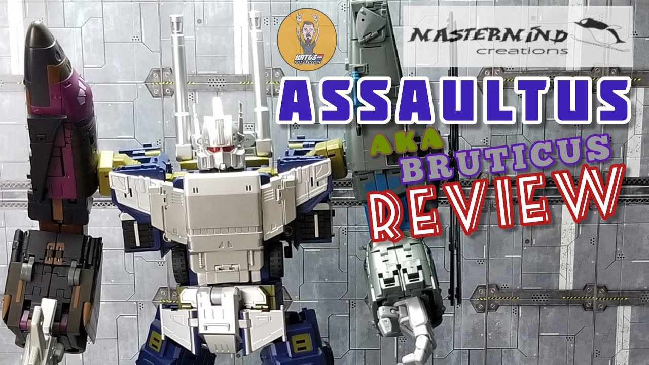 Mastermind Creations Assaultus Combined Review by Kato's Kollection