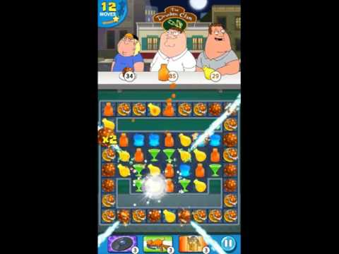Family Guy Another Freakin Mobile Game Level 37 - NO BOOSTERS