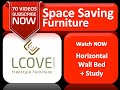 LCOVE Horizontal Wall Bed Option with Study Table