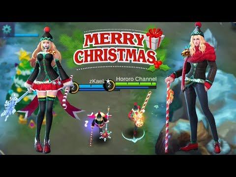 ODETTE X LANCELOT CHRISTMAS SKIN IN CHRISTMAS MODE