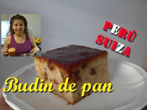 Budin de pan. ( PERÚ) - Receta riquisina ! , facil y economica / Peruana  en Suiza.
