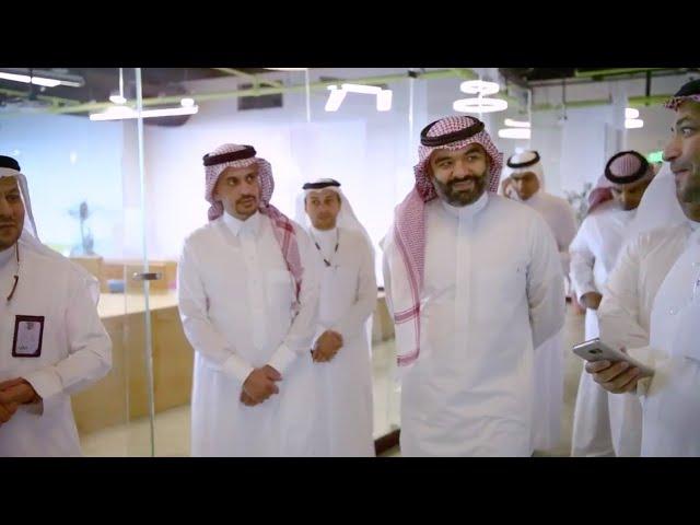 زيارة معالي وزير الاتصالات وتقنية المعلومات المهندس عبدالله السواحه لشركة وادي مكة للتقنية