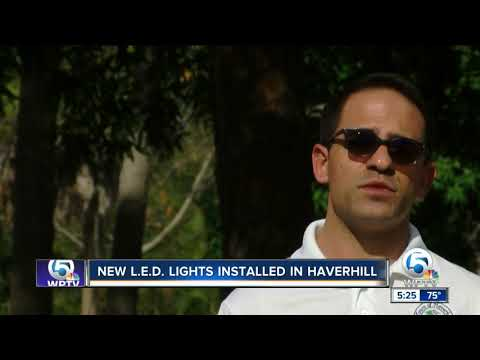 Brighter, energy efficient lights installed in Haverhill