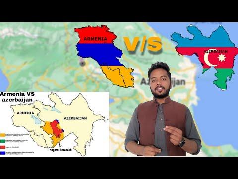 Armenia V S Azerbaijan Nagorno Karabakh Conflict Azerbaijan V S Armenia War Urdu Hindi Youtube
