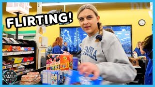 FLIRTING AT THE GROCERY STORE!