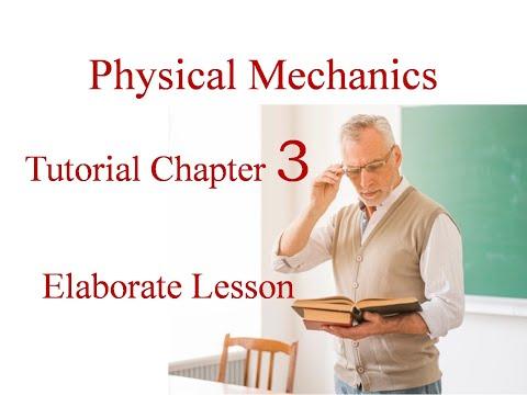 Physical Mechanics tutorial_3, get better score in exam.