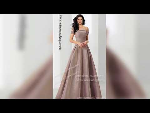 gorgeous-off-the-shoulder-a-line-glitter-ball-prom-formal-evening-dress