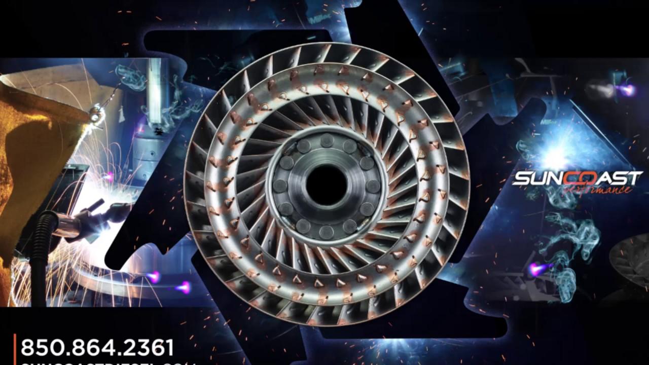 SunCoast 6R140 Billet Quadralock Torque Converter