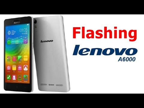 Cara Flashing Lenovo A6000 Qualcom Via QFIL