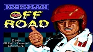 Ironman Offroad Racing gameplay (PC Game, 1989)