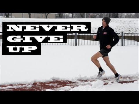 Inspirational Winter Track Workout (HD)