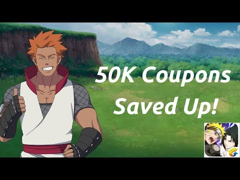 I SAVED UP 50.000 COUPONS! – Account Showcase – Naruto Online Mobile