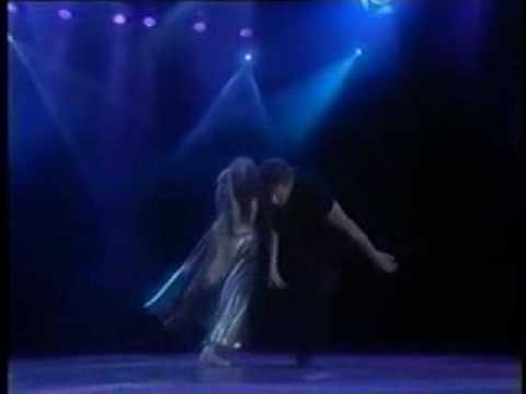 Patrick Swayze  and  Wife dancing  At World Music Awards 1994
