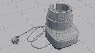 Создание блендера в Blender (моделирование 1/3)