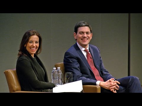 David Miliband, International Rescue Committee CEO: Talks at GS Session Highlights