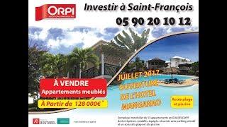 Drone-Résidence Manganao - Saint François - Guadeloupe