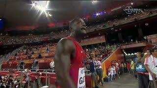 2015 100m Champs, Justin Gatlin Heat - Universal Sports