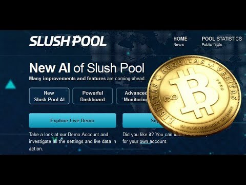 Bitcoin Miner Tutorial - SlushPool Dashboard