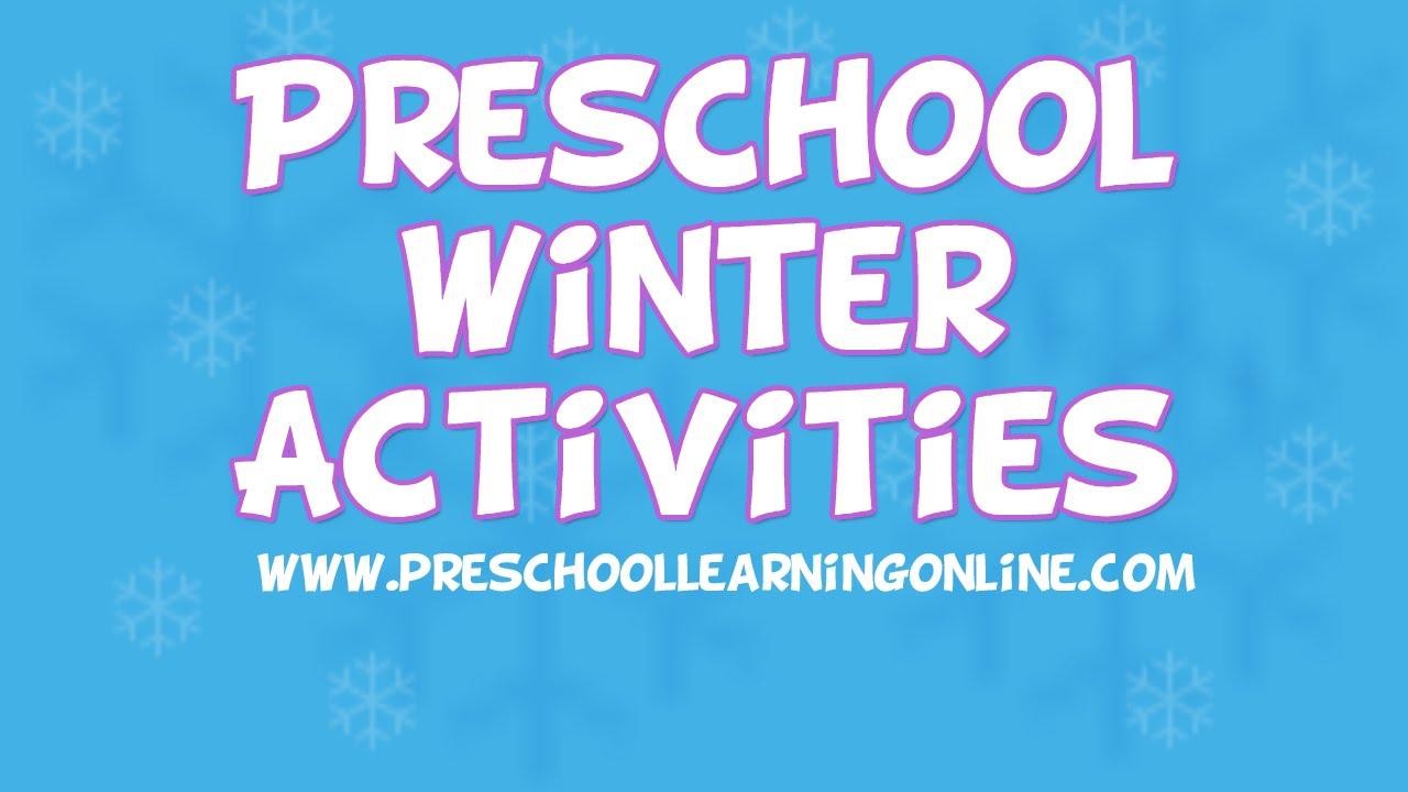 Winter Activities for Pre K Kids | Pre K Science & Sensory Ideas ...