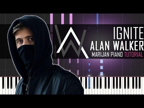 How To Play: Alan Walker & K-391 - Ignite | Piano Tutorial