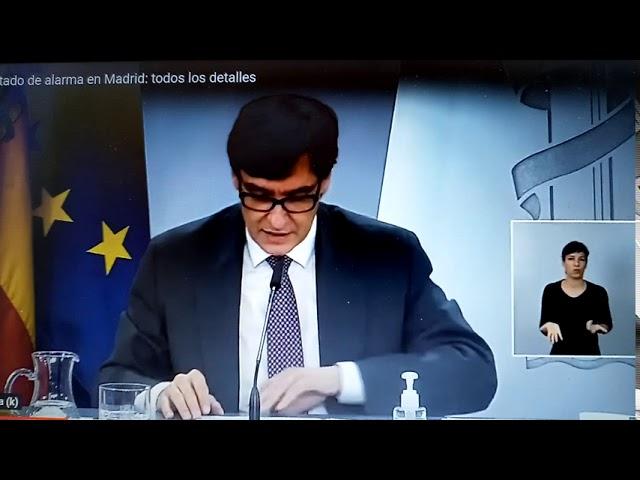 Gobierno decreta Estado de Alarma con otra cobertura juridica e iguales medidas