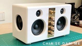 DIY Bluetooth Boombox Speaker