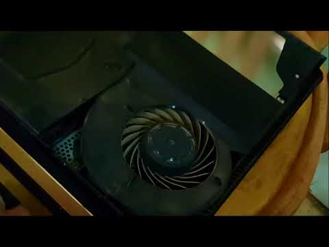 how to clean ps4 pro fan