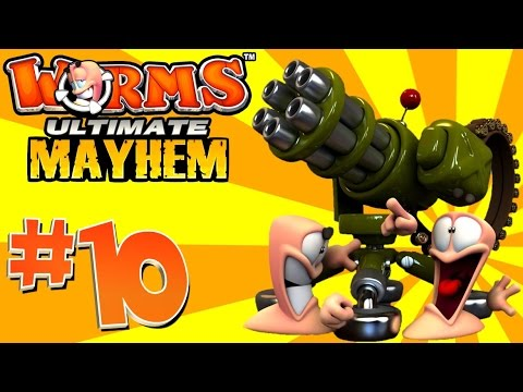 Lets Play – Worms: Ultimate Mayhem Part 2