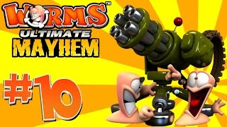 [10] Super Weapons! (Worms Ultimate Mayhem)