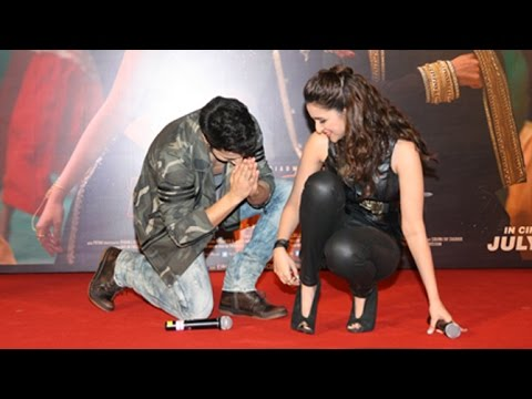 Varun Dhawan's FUNNY Moment With Parineeti...
