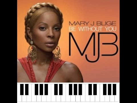 How To PlayBe Without Youby Mary J. Blige on Piano