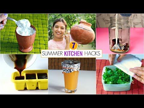 7-summer-kitchen-hacks-you-must-know-|-kitchen-tips-&-tricks-|-cookwithnisha