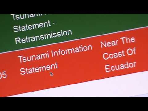ALERT WARNING, WARNING PACIFIC TSUNAMI WARNING FOR HAWAII
