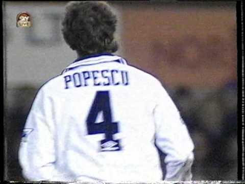 Gica Popescu, gol in 1994-95 Tottenham - Arsenal 1-0