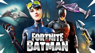 *NEW* Fortnite BATMAN Skin Makes Me Edit FASTER! Gotham Map Update (Fortnite Batman Gameplay)