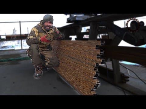 видео: Бюджетный забор своими руками
