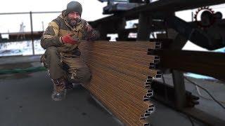 Бюджетный забор своими руками. Budget fence do it yourself. Bosch